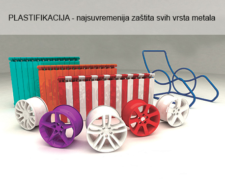 Plastifikacija - Plastificiranje - Plastifikacija metala